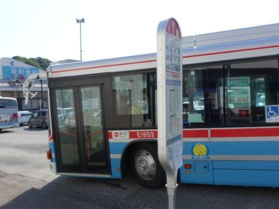 横須賀しょうぶ園 バス