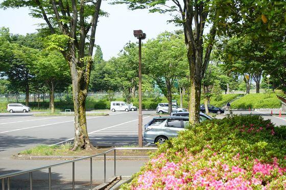 秋留台公園 駐車場