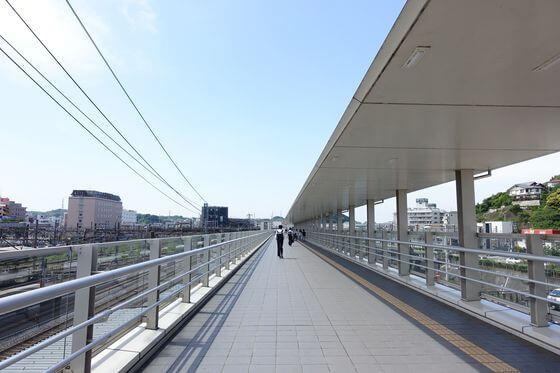 大船駅 ペデストリアンデッキ