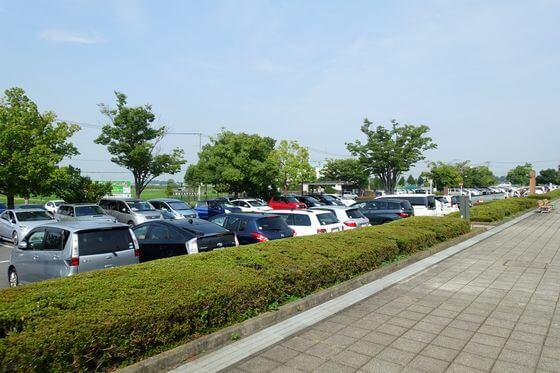 古代蓮の里 駐車場