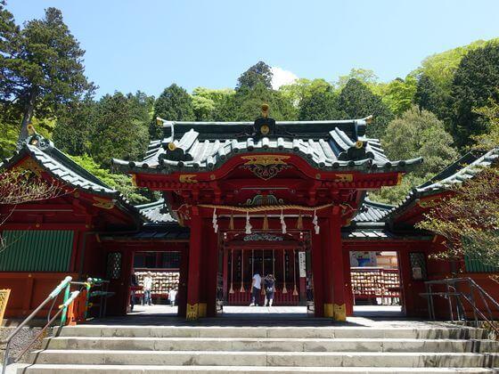 箱根神社 社殿