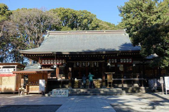 平塚八幡宮 社殿