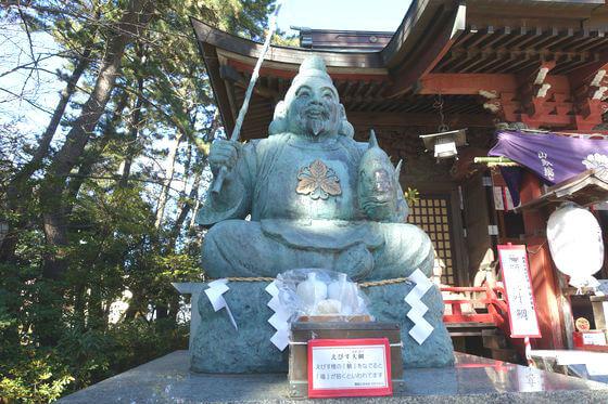 平塚三嶋神社 恵比寿像