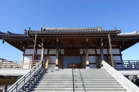 長楽寺 平塚 本堂
