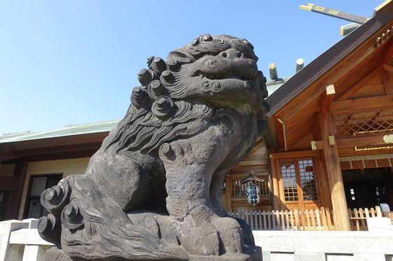 石浜神社 狛犬