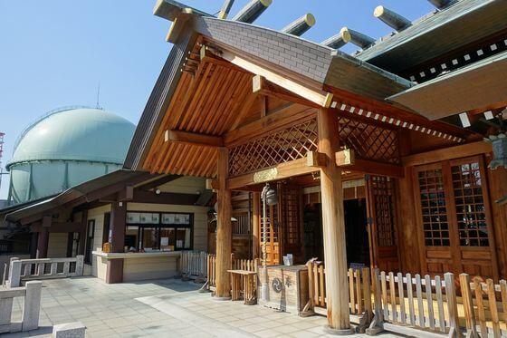 石浜神社 社殿