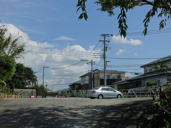 常泉寺 駐車場