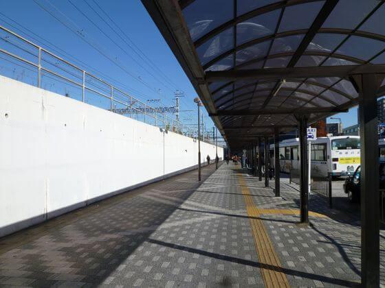 金町駅 南口 バスロータリー