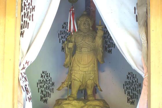 駒形神社 毘沙門天