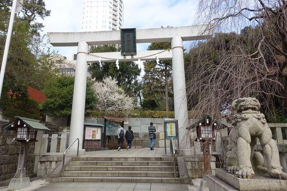 乃木神社 鳥居
