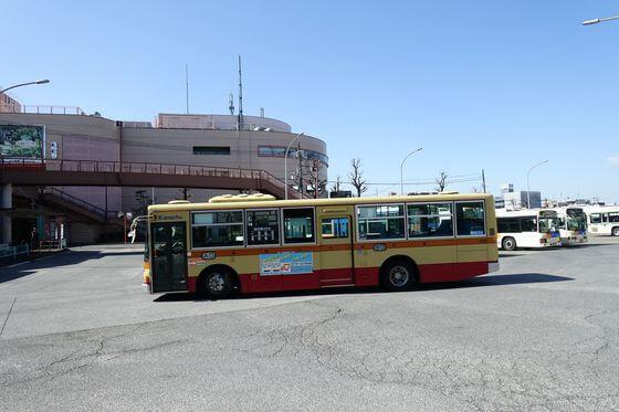追分市民の森 バス