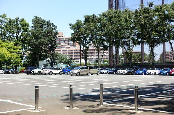 大蔵運動公園 駐車場