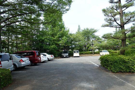 忍城 駐車場