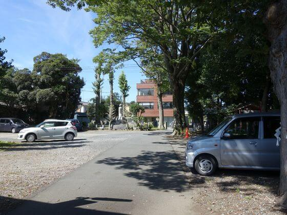 幸宮神社 駐車場
