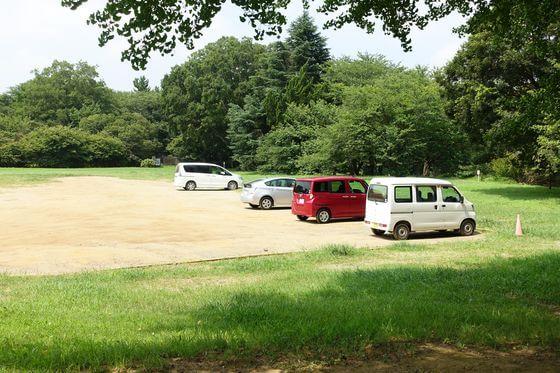 佐倉城 駐車場
