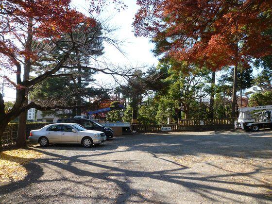 三宝寺 駐車場