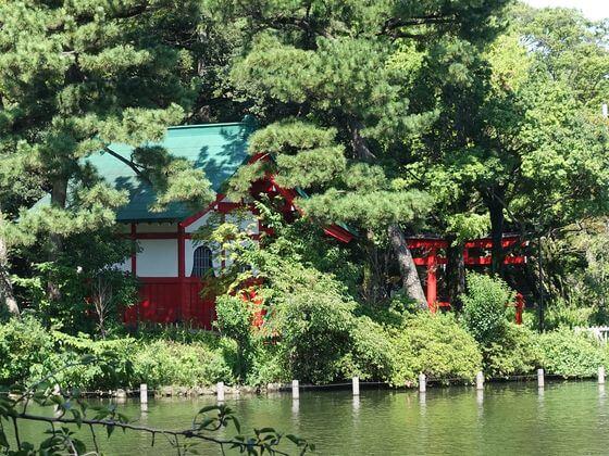 厳島神社 洗足池