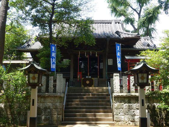 千束八幡神社 社殿