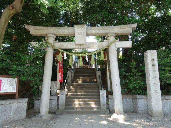 千束八幡神社 第二鳥居