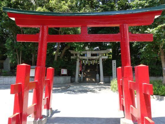 千束八幡神社 第一鳥居