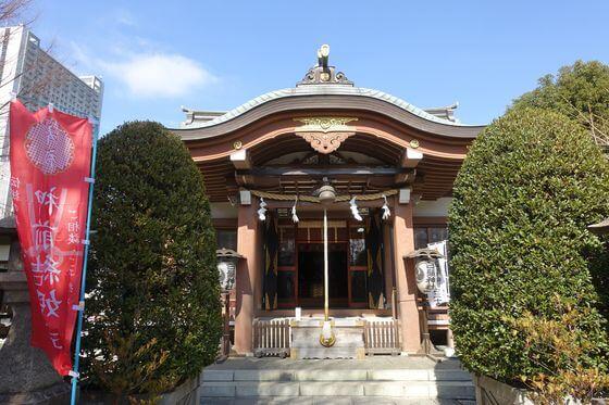 白鬚神社 社殿