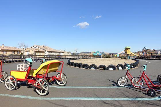 ソレイユの丘 おもしろ自転車