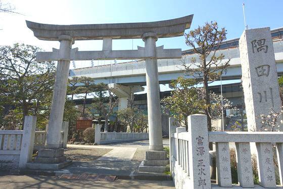 隅田川神社 鳥居