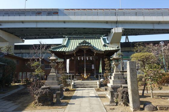 隅田川神社 境内