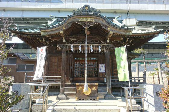 隅田川神社 社殿