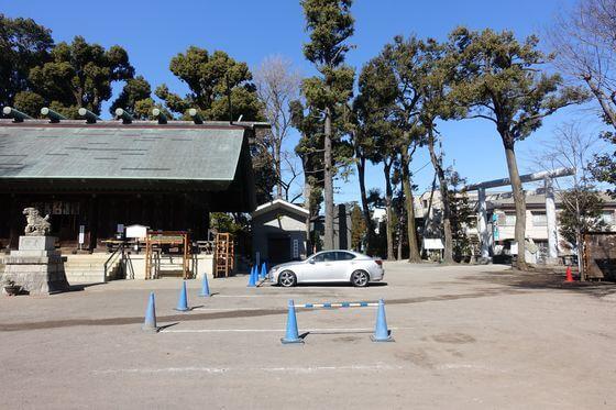 所澤神明社 駐車場