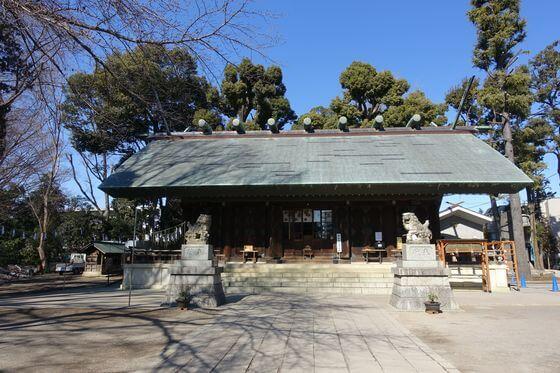 所澤神明社 拝殿