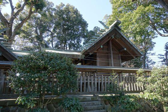 所澤神明社 社殿
