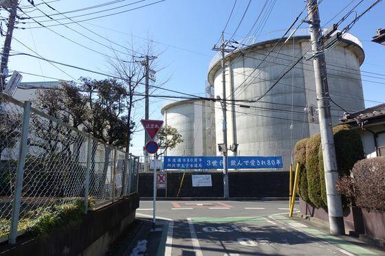 所沢第一浄水場所