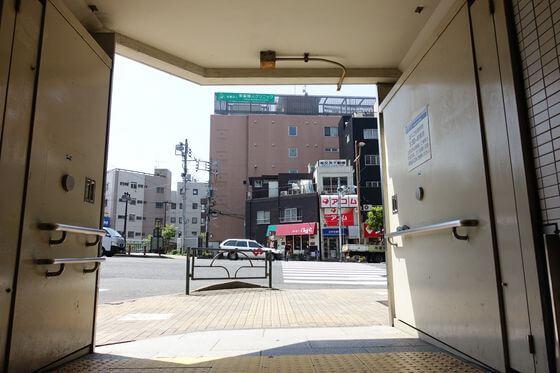 木場駅 1番出口