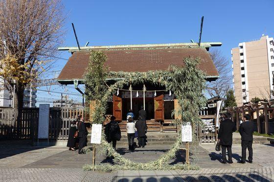 鶴見神社 境内