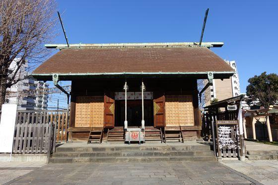鶴見神社 社殿