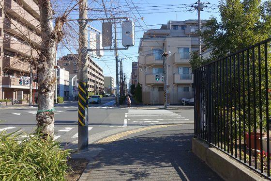 潮田公園前交差点