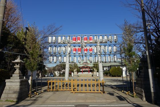 鶴見 潮田神社