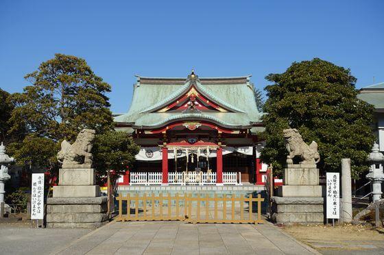 潮田神社 社殿