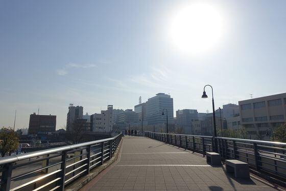 山下臨港線プロムナード