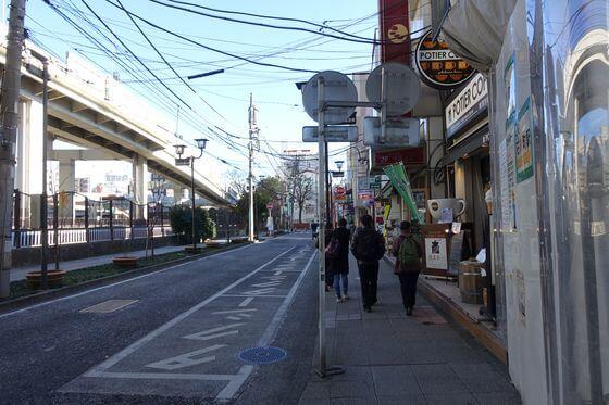 石川町駅 南口