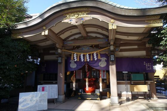雑司が谷大鳥神社 社殿