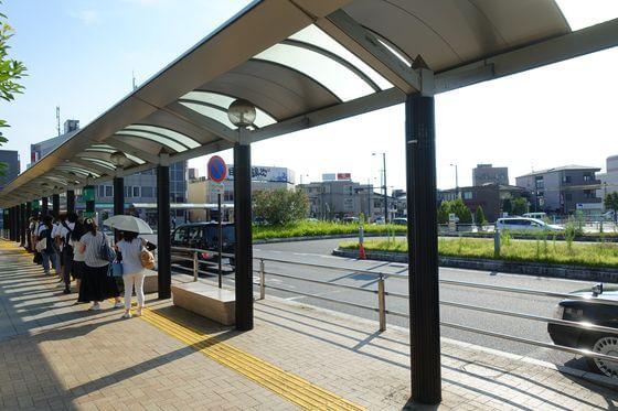 蓮田駅 東口 バスロータリー