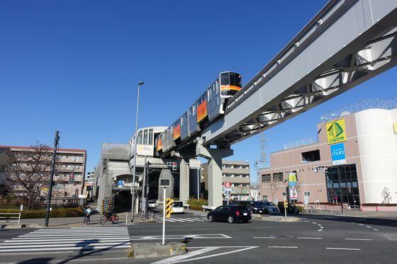 日野バイパス 万願寺駅