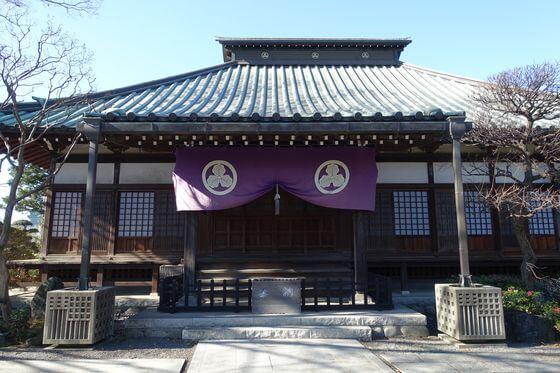 安養寺 日野 本堂