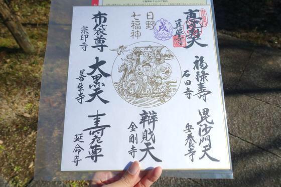 日野七福神 値段