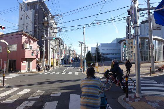 江古田駅北口交差点