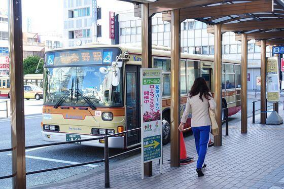 平塚駅 北口 バス