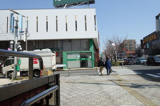 桜新町駅 北口