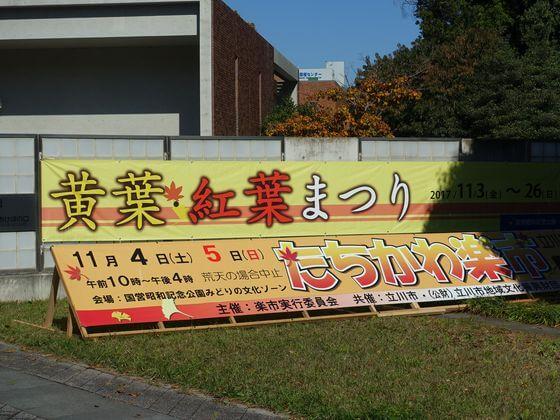 昭和記念公園 紅葉まつり